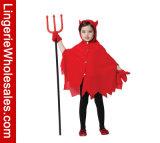 Costume Cosplay плаща красного дьявола платья партии Halloween девушок