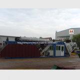 pianta d'ammucchiamento concreta automatica 60m3/H/impianto di miscelazione concreto