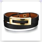 De Armband van het Leer van de Armband van de Manier van de Juwelen van het leer (LB280)