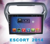 Sistema Android 5.1 Navigation&GPS para Ford Escort 2014 com reprodutor de DVD do carro