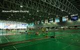 Изготовление дешевого крытого PVC резвится настил для сбывания судов Badminton 2017 горячего