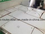 Gabinete da maquinaria de Woodworking do CNC que cinzela a ferramenta da maquinaria