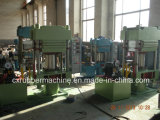 Imprensa da estação dobro/máquina de pressão Vulcanizing para a borracha