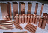 Muffa Pressing Wcu Alloy Round Rod Electrode per Contact