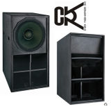 De PRO 21 ' High-Power Subwoofer Lautsprecher Doos van Cvr