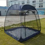屋外3-4人のための網のキャンプテントを現れなさい
