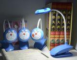 創造的なランプ夜学生を満たすデュオのDingdangmaoの漫画LEDは目の保護の省エネを学ぶ
