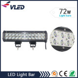 "12 ""72W 5760lm de doble hilera de barra de luces campo a través del CREE LED"
