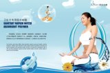 Sanitary Napkin를 위한 높은 Quality Super Absorbent Polymer