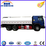 20000litros 6silos Carbon Steel Gasoling / Diesel 6 * 4 Caminhão-tanque para o mercado de Filipinas