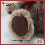 Peluche de pelúcia com peles de peluche Natal ursinho de pelúcia
