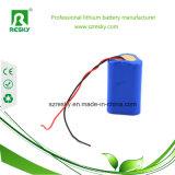 11.1V 3400mAh Batterie-Satz für Taschenlampe, LED-Lampen