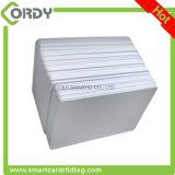 125kHz TK4100 EM4200の熱再版のための白いブランクRFIDのカード
