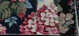 Laços impressos florais da tela do algodão da forma elevada