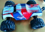 4WD Brushless RC Car - Cor vermelha