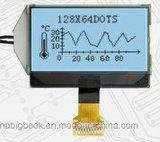 Матрица многоточий угла наблюдения 28*64 белого Backlight индикации LCD широкая