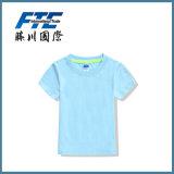 純粋なカラーカップルの習慣のTシャツのための円形カラーTシャツ