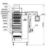 Запечатывание 4-Стороны мононатриевого глутамата и многополосная машина упаковки