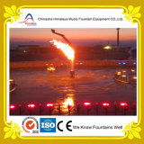 Fonte ao ar livre especial da caraterística da água da flama do incêndio