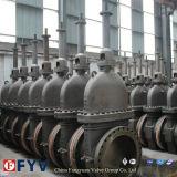 Válvula de compuerta plana de acero al carbono