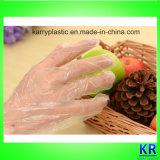 Kundenspezifische PET Handschuhe Wegwerf-HDPE Handschuhe