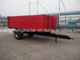 Off-Road Single Axle VTT utilitaire Farm Box Trailer Farm Trailer