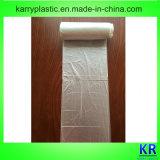 Sacs de détritus de HDPE, sacs plats en plastique