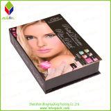 Подгонянная коробка косметики подарка твердого картона упаковывая бумажная
