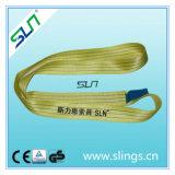 3t*10m 100% GS de la CE de 7:1 de facteur de sûreté de bride de sangle de polyester