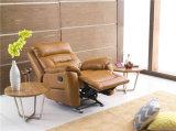 Стул рукоятки Италии кожаный для живущий комнаты использовал