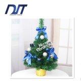 Venda por atacado luxuosa pequena da árvore do pacote da árvore de Natal dos bonsais da curva