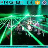 свет влияния этапа лазера 1500MW RGB цветастый