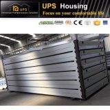 20 pieds de structure métallique de luxe de conteneur préfabriqué diplômée par OIN de Chambre