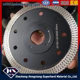 Le diamant de Turbo de maille de cyclone de qualité scie la roue de découpage de diamant de lame