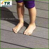 Calidad superior de madera compuesto plástico WPC terrazas Suelos