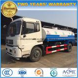 Petroleiro jorrando de Dongfeng 4*2 15000 da água litros de caminhão do transporte