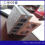 Linha de produção composta plástica de madeira