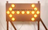 Sinal mutável das placas de mensagem do módulo móvel do tráfego do diodo emissor de luz dos Vms P16