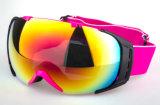 Anti óculos de proteção da snowboarding de Eyewear do impato com lentes permutáveis