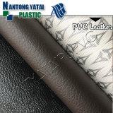 Couro resistente do PVC da abrasão nova do projeto para a bolsa da bagagem