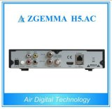 Base dual Zgemma H5. Receptor combinado de la CA Hevc/H. 265 DVB-S2+ATSC IPTV
