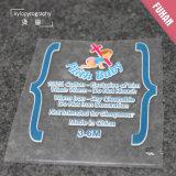 Etiqueta feita sob encomenda profissional da transferência térmica para o vestuário dos miúdos