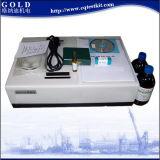 Instrument de mesure infrarouge de contenu d'huile d'eaux d'égout, analyseur huile/eau