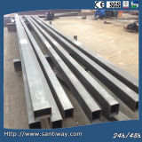 Tubulação de aço galvanizada de carbono