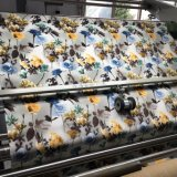 100% poliéster Impreso Velvet Sofá de la tela (PR022)
