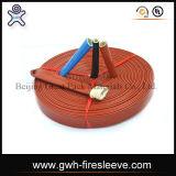 Tubo flessibile di gomma resistente del petrolio di rinforzo acciaio del manicotto dell'incendio