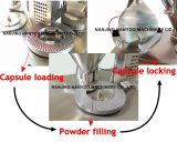 Máquina de cápsula de enchimento de cápsula semi-automática pequena e barata