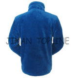 Hommes Fake Fur Faux Fur Polyster Fabric Leisure Jacket Sports Wear