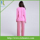 Micro mulheres polares roupa de noite do velo, pijamas das mulheres, Pyjamas