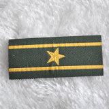 カスタム刺繍によってパッチの/Shoulderの編まれるバッジ